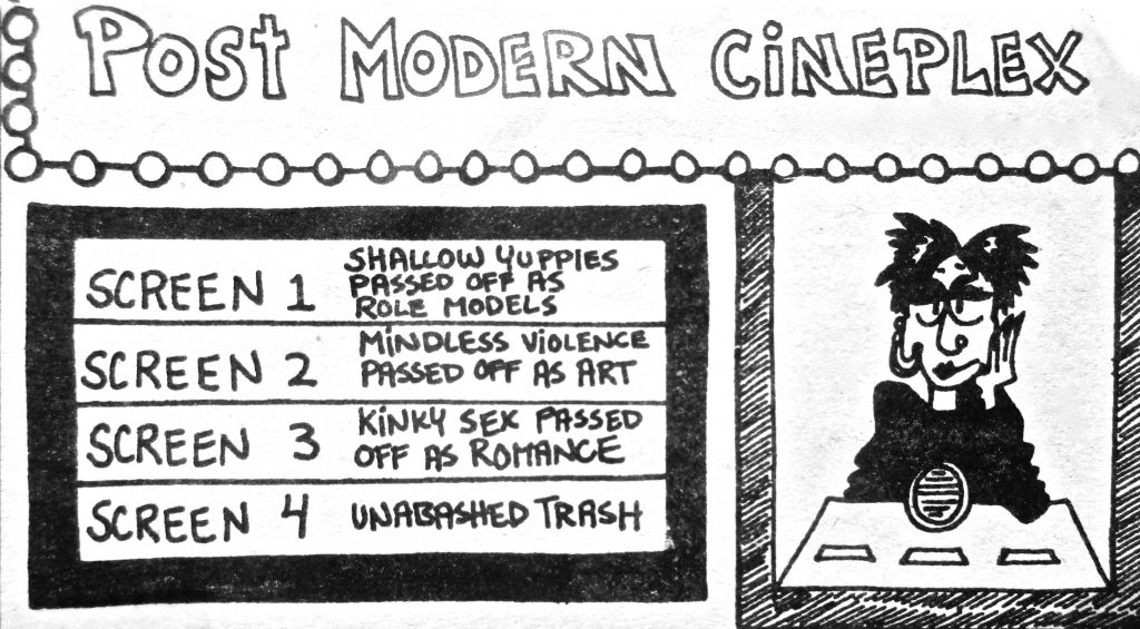 Cartoon Post Modern Cineplex