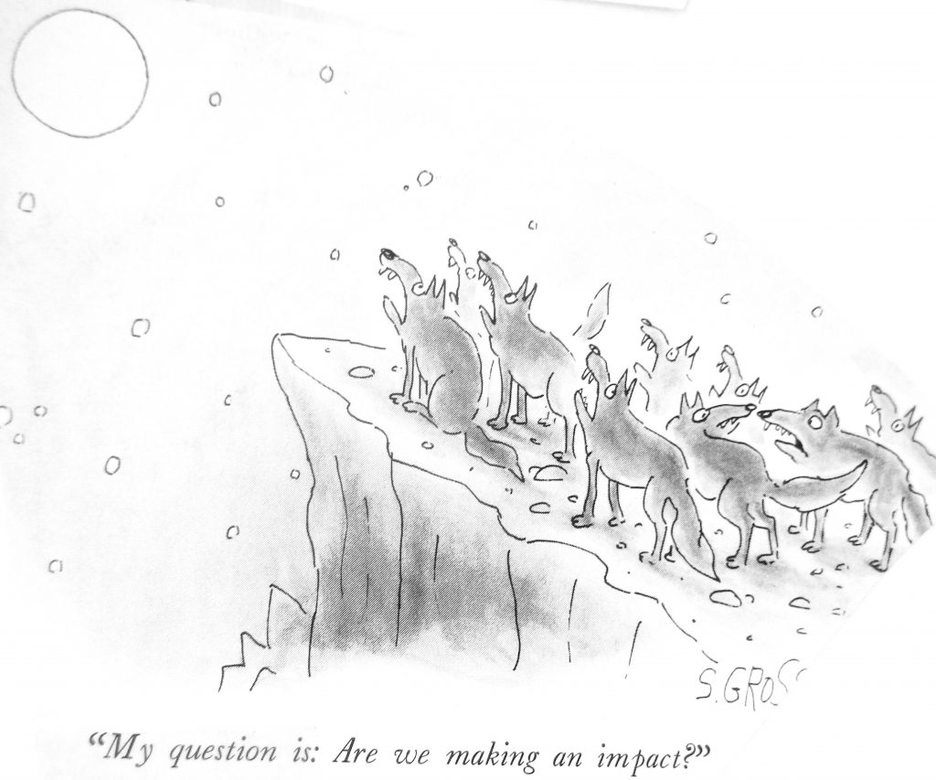 Cartoon Question Is Are We Making An Impact