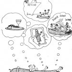 Cartoon – Afloat at Sea