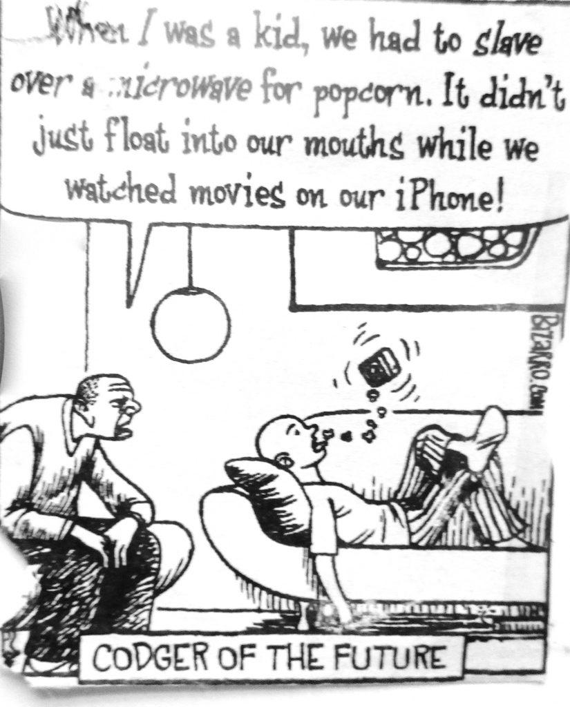 Cartoon Rodger Of The Future