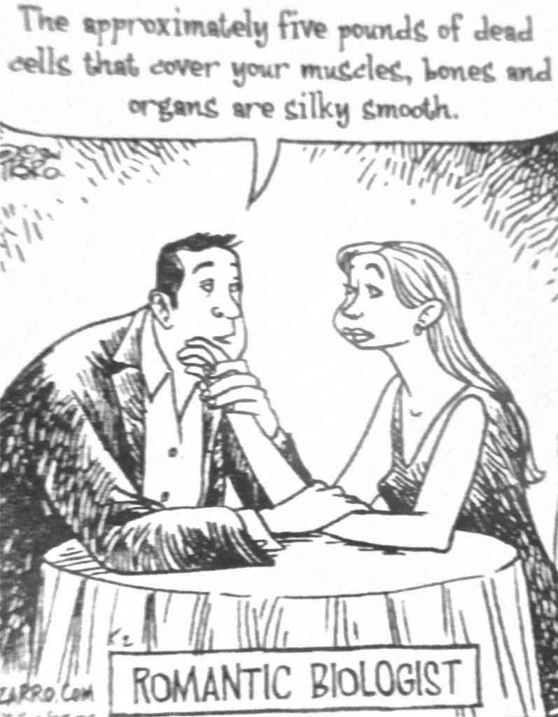 Cartoon Romantic Biologist