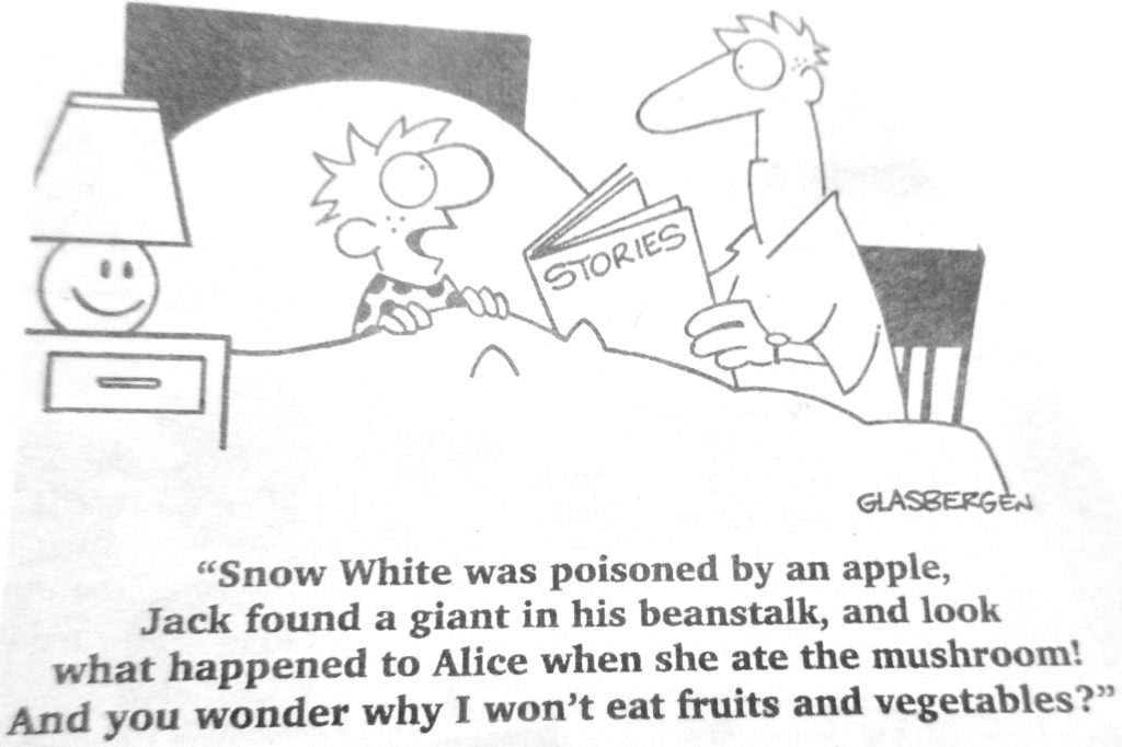 Cartoon Snow White Was Poisoned By An people