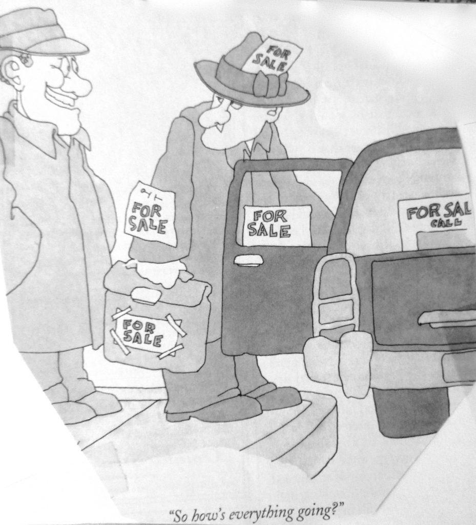 Cartoon So Hows Everythong Going