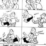 Cartoon – Heimlich's Less Celebrated Maneuvers