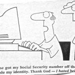 Cartoon – Someone Stole My Identity
