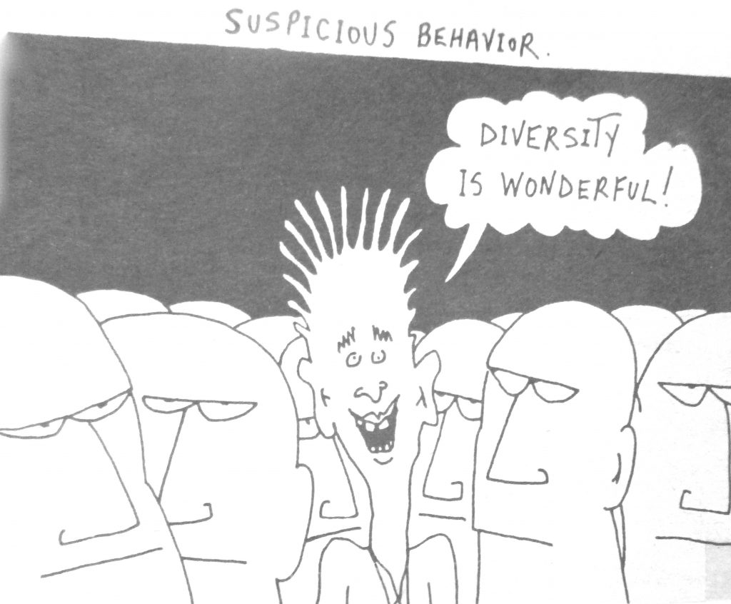 Cartoon Suspicious Behavior Diversity Is Wonderful