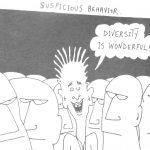 Cartoon – Suspicious Behavior