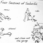 Cartoon – The Four Seasons Of Suburbia