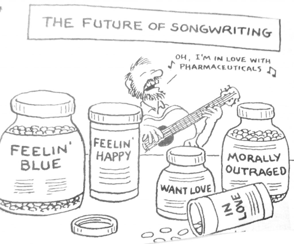 Cartoon The Future Of Song writing
