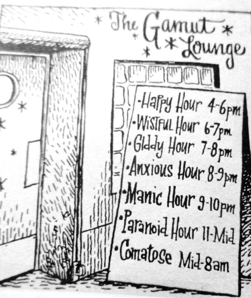 Cartoon The Gamut Lounge