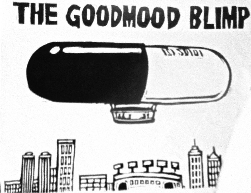 Cartoon The Goodmood Blimp