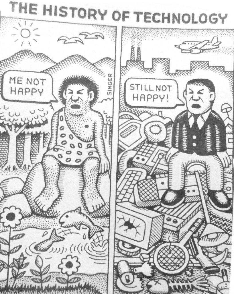 Cartoon The History Of Technology