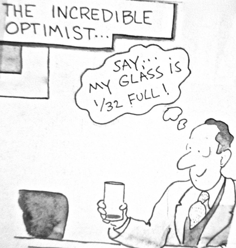 Cartoon The Incredible Optimist