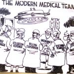 Cartoon – The Modern Medical Team