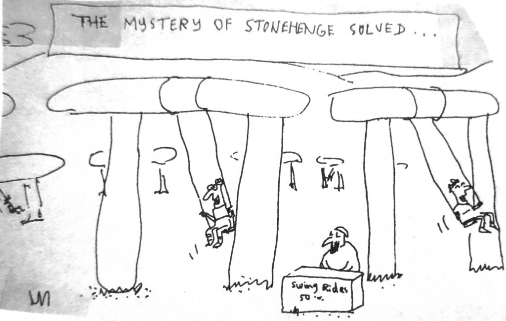 Cartoon The Mystery Of Stonehenge Solved