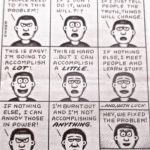 Cartoon – The Nine Stages Of Activism