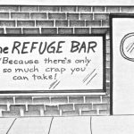 Cartoon – The Refuge Bar