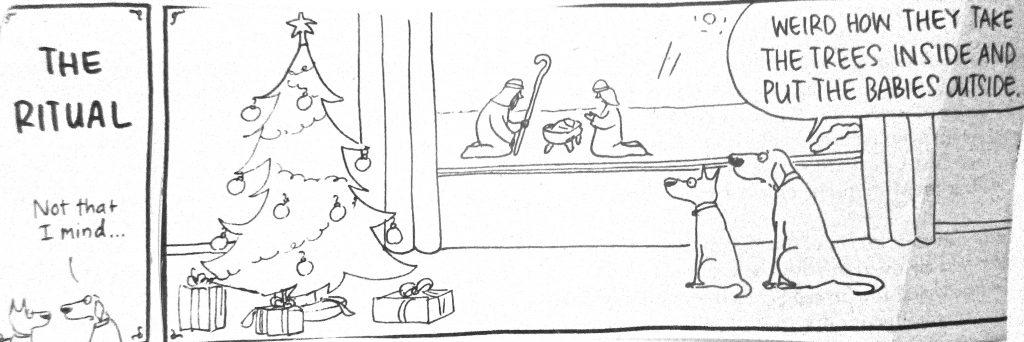 Cartoon The Ritual Not That I Mind
