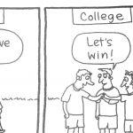 Cartoon – The Three Cheers Of Sport