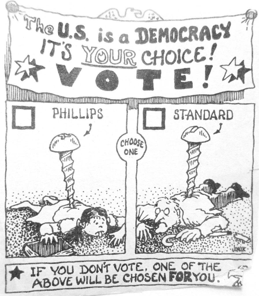 Cartoon The U
