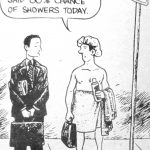 Cartoon – The Weather Report Said 80 Chance Of Showers Today