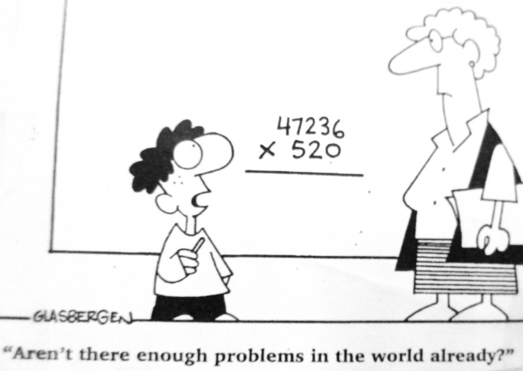 Cartoon There Enough Problems In The World Already