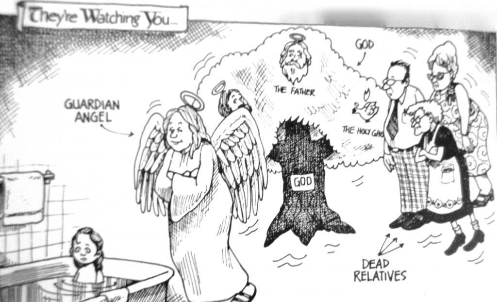 Cartoon They Watching You