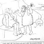 Cartoon – History of Tattooing