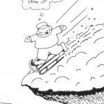 Cartoon – Never Growing Up