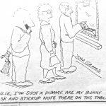 Cartoon – Unprepared Thief