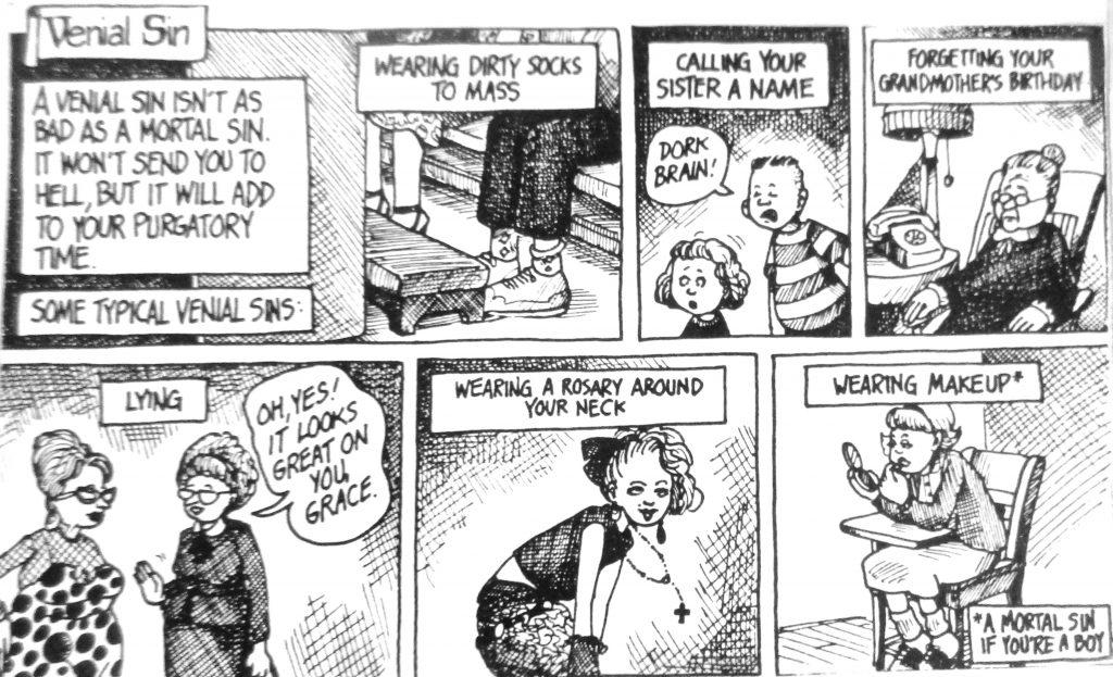 Cartoon Verial Sin