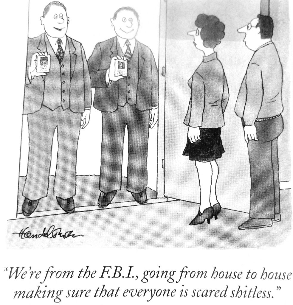 Cartoon We Re From The F