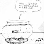 Cartoon – A Fish Out of Water