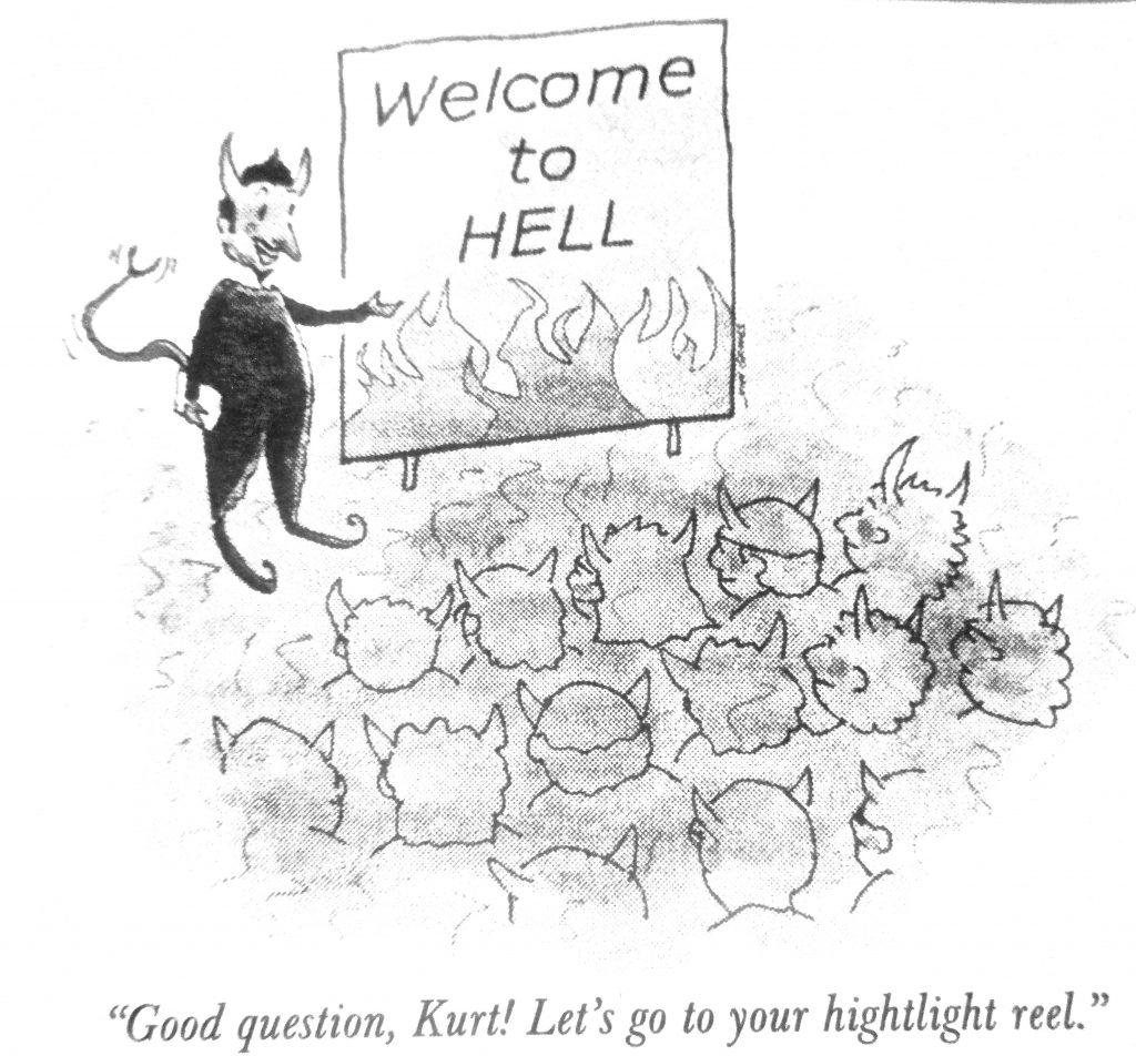 Cartoon Wellcome To Hell
