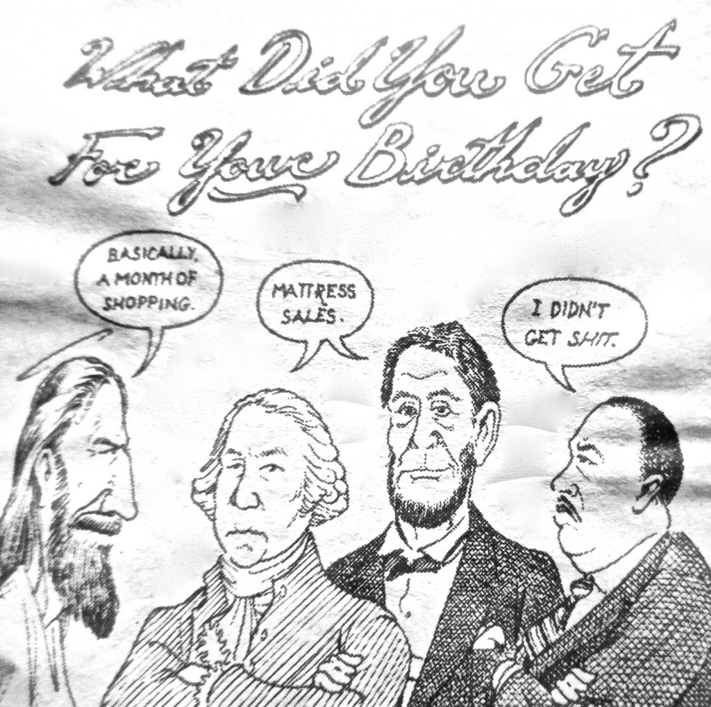 Cartoon What Did You Get For Your Birthday