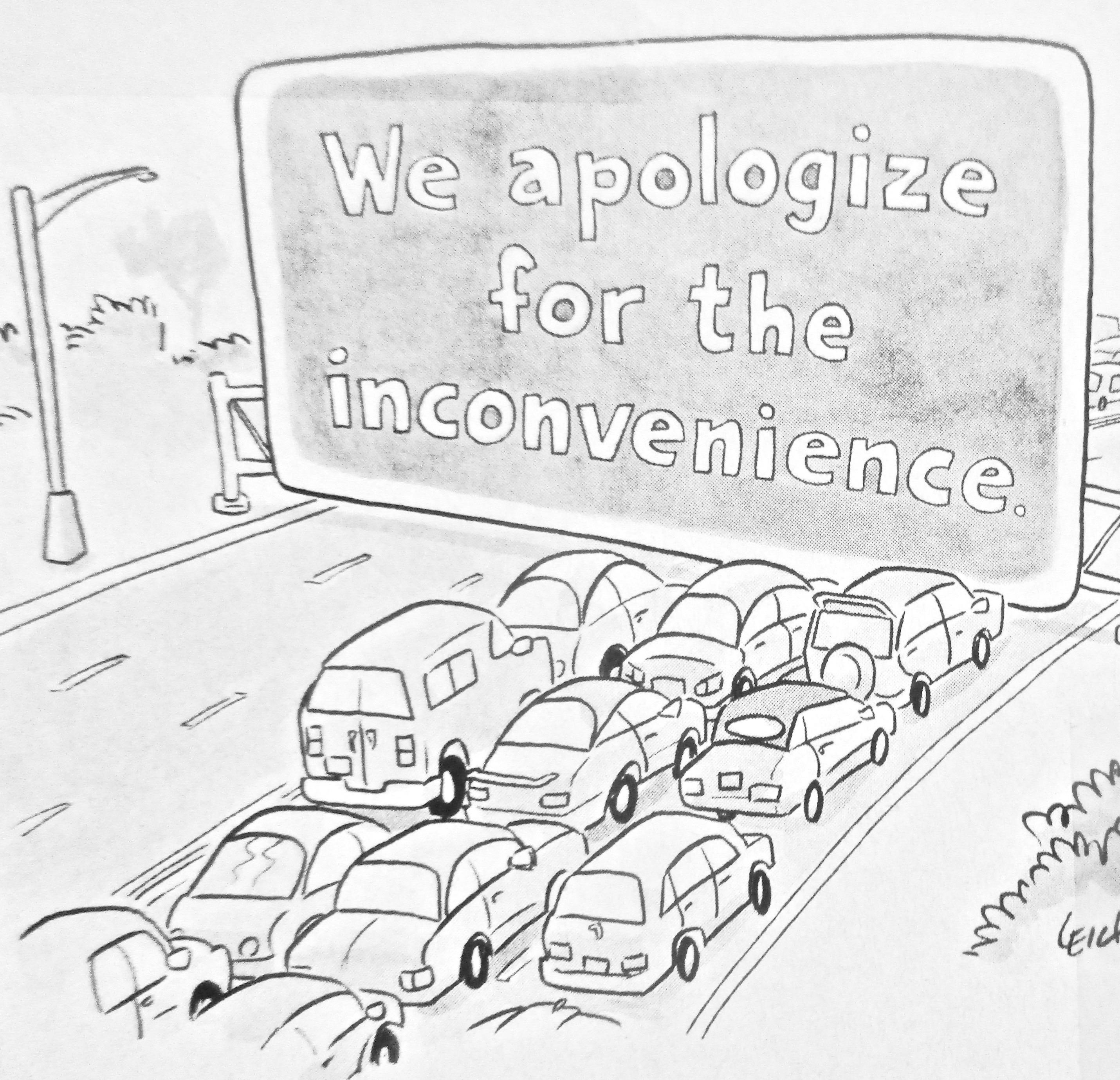 Cartoon - Where the traffic begins | Antarctica Journal