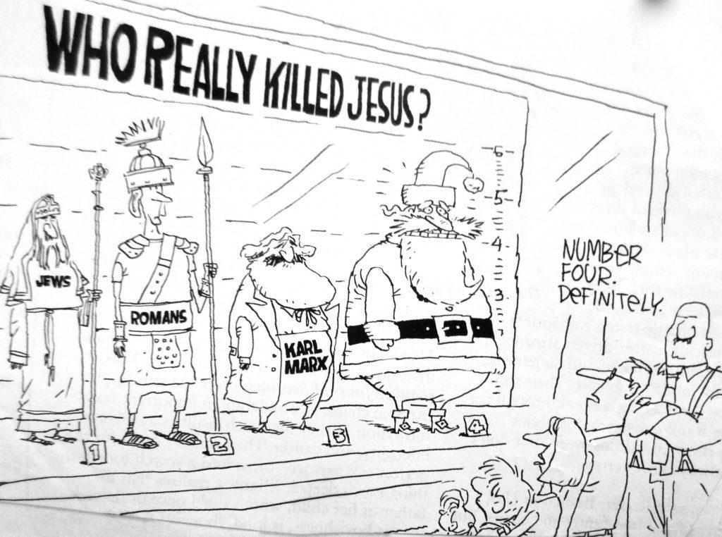 Cartoon Who Really Killed Jesus
