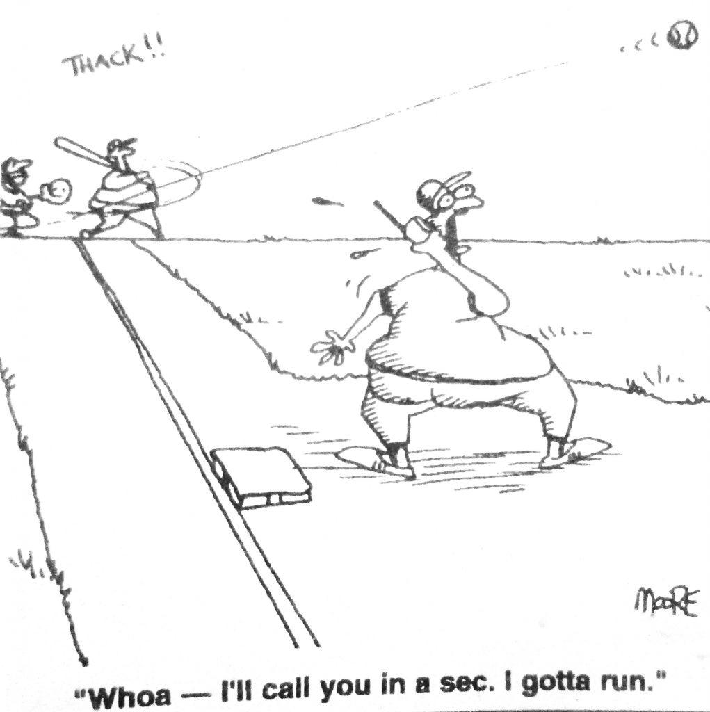 Cartoon Whoa Ill Call You In A Sec I Gotta Run