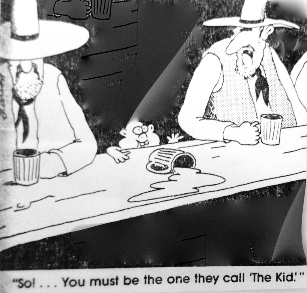 Cartoon You Must Be The One ThEy Call The Kid