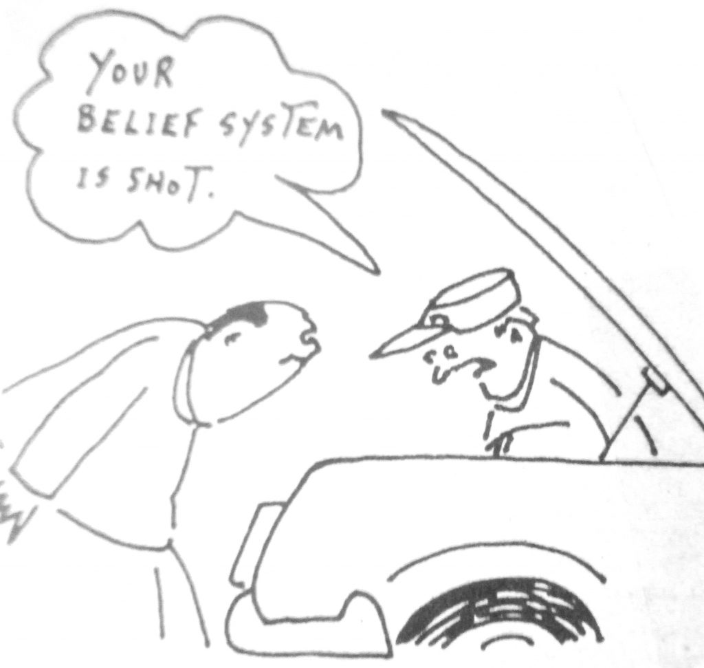 Cartoon Your Belief System Is Snot