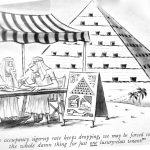 Cartoon – The Origin of Pyramids