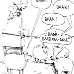 Cartoon – Du-Wop Sheep