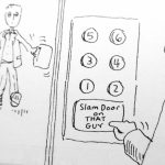 Cartoon – Most Useful Elevator Button