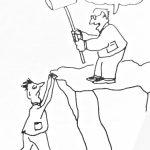 Cartoon – The Cliff