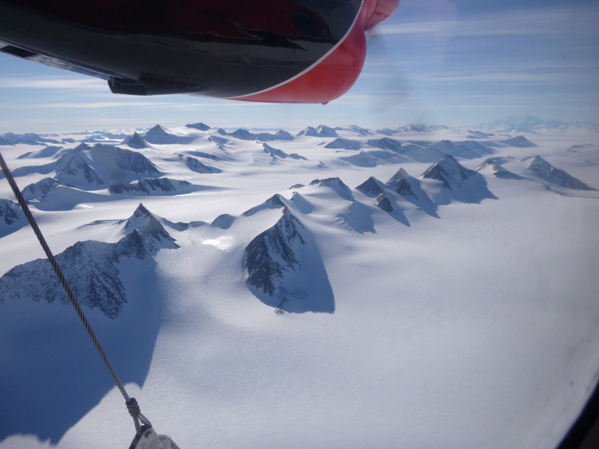 Tom Fabbri - View Flying En Route To Mt Vinson, Antarctica