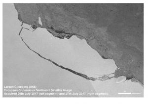 Craig Russell Predicted Arctic Event Affecting Larsen C Ice Shelf