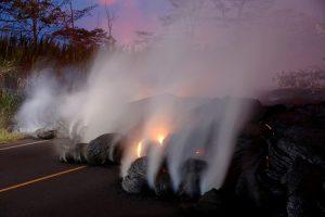 Dangerous Gasses From Kilauea Volcano Eruption Affect Environment