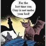 Cartoon – Fear of Bats
