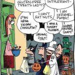 Cartoon – Halloween in California