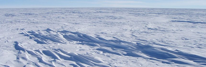 East Antarctic Ice Sheet - Coldest Place On Earth